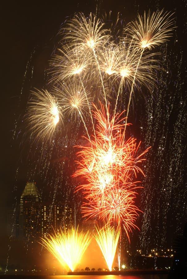 Vuurwerk 2 stock fotografie