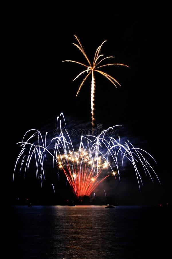 Download Vuurwerk stock foto. Afbeelding bestaande uit viering, schijnsel - 28188