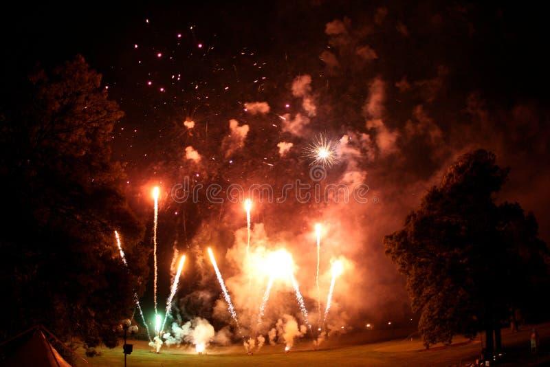 Vuurwerk stock foto