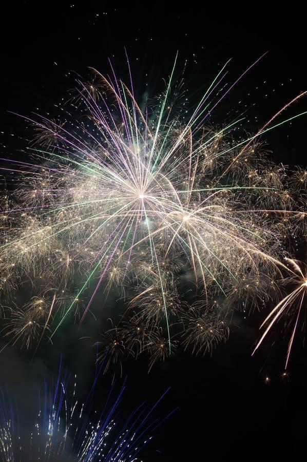 Vuurwerk! stock fotografie