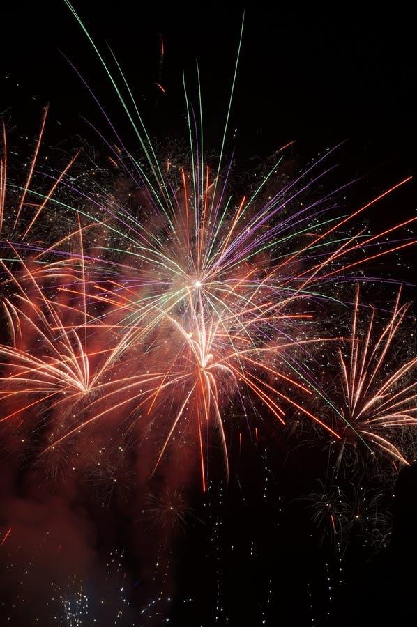 Vuurwerk! royalty-vrije stock foto