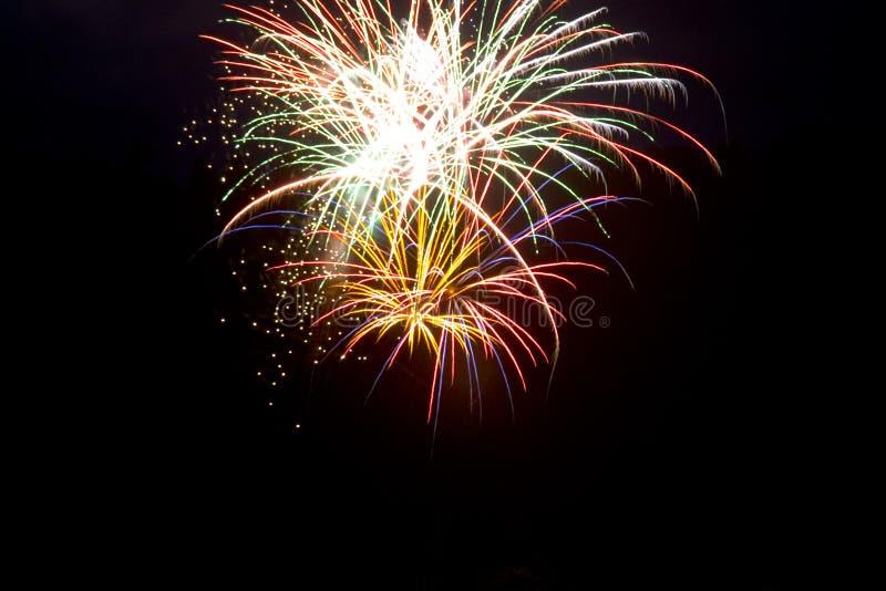 Vuurwerk 5 Royalty-vrije Stock Foto