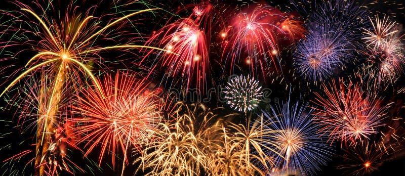 Vuurwerk stock afbeelding