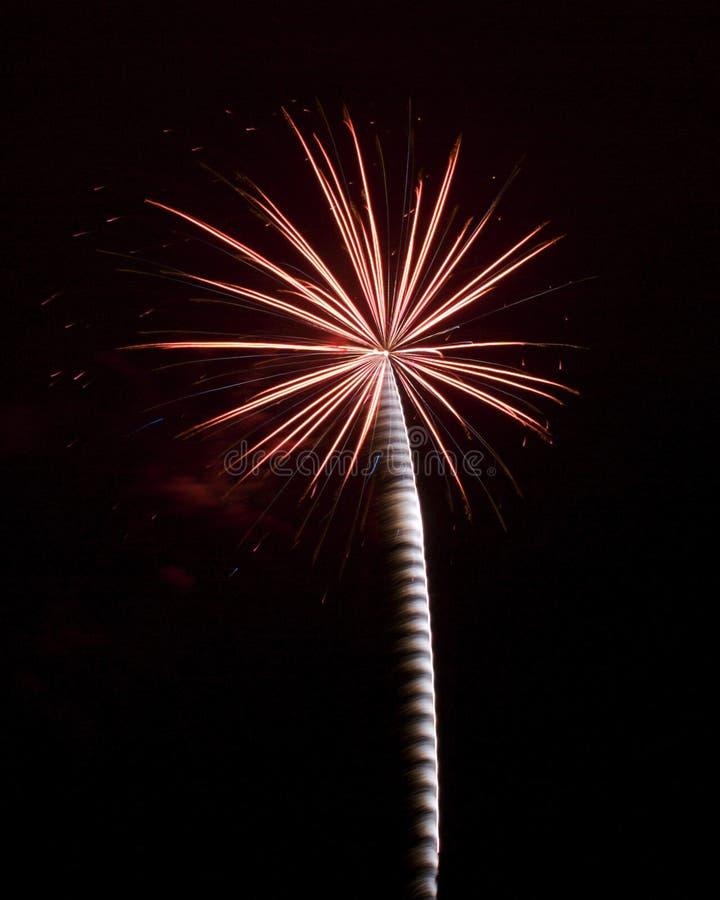 Vuurwerk 8 stock foto