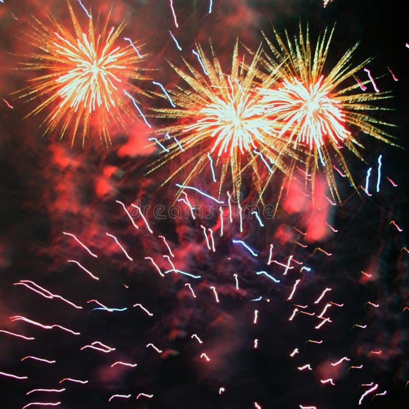 Vuurwerk (Vuurwerk) stock afbeeldingen