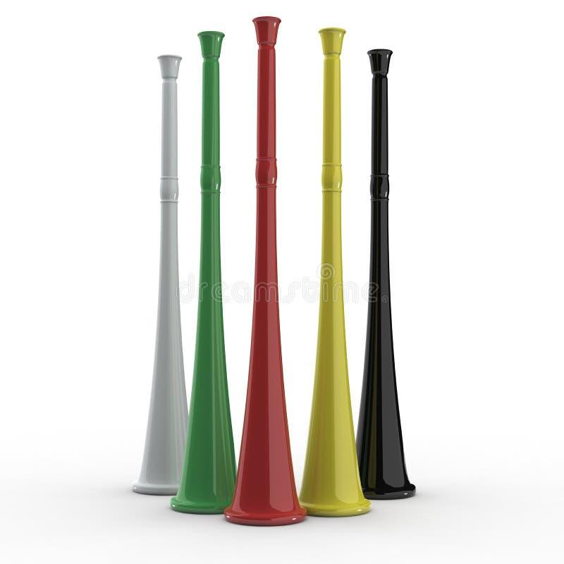vuvuzela royalty ilustracja