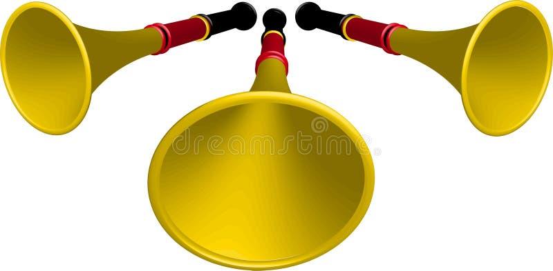 Download Vuvuzela stock vector. Image of soccer, africa, culture - 14837173