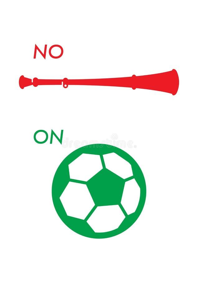 Download Vuvuzela poster stock vector. Illustration of cultural - 14857063