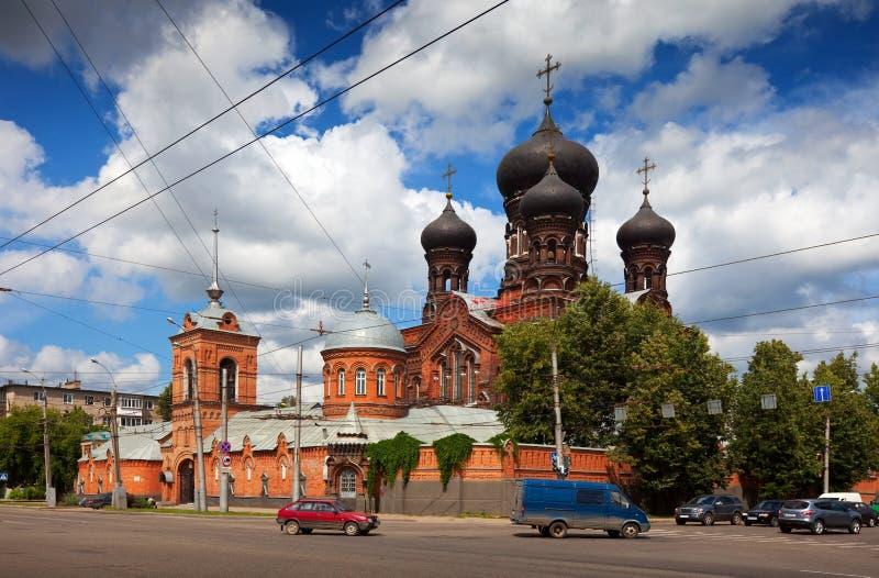 Vvedensky convent in Ivanovo royalty free stock image