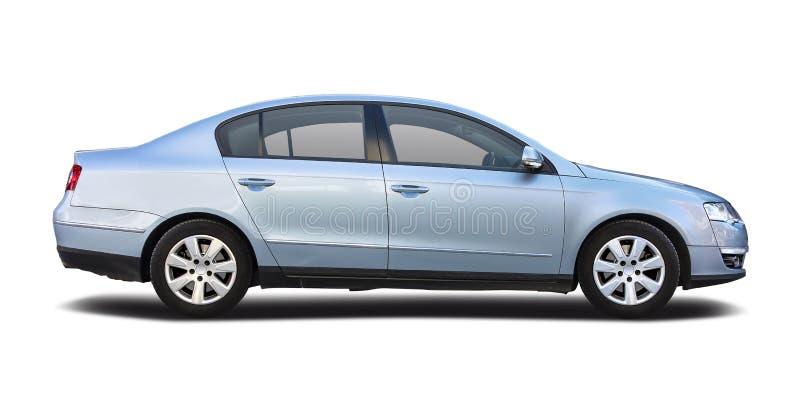 VW在白色隔绝的帕萨特 库存图片