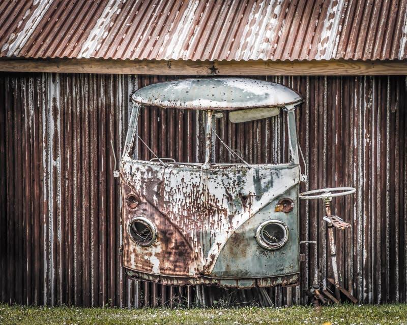 VW头骨 库存照片
