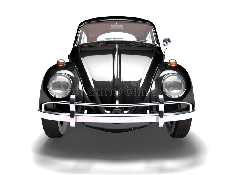 VW Beetle 10 stock illustration