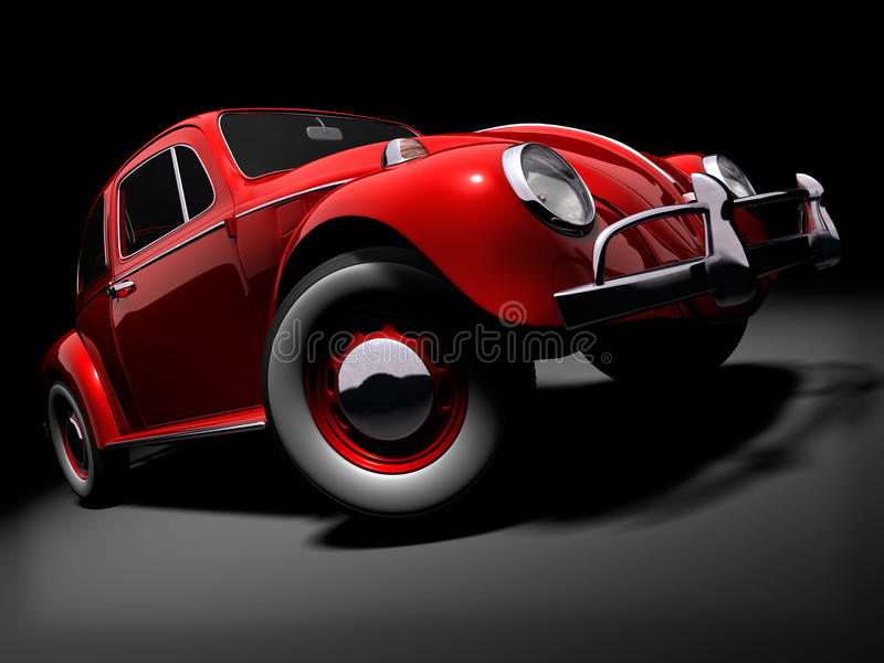 VW Beetle 2 royalty free stock photos