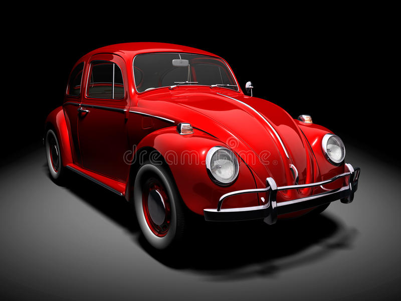 VW Beetle 7 royalty free illustration
