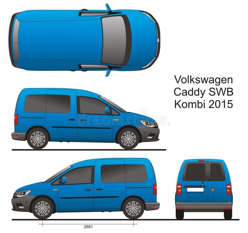 VW Caddy SWB Kombi 2015 απεικόνιση αποθεμάτων