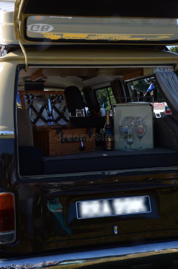 VW-Camper lizenzfreies stockfoto