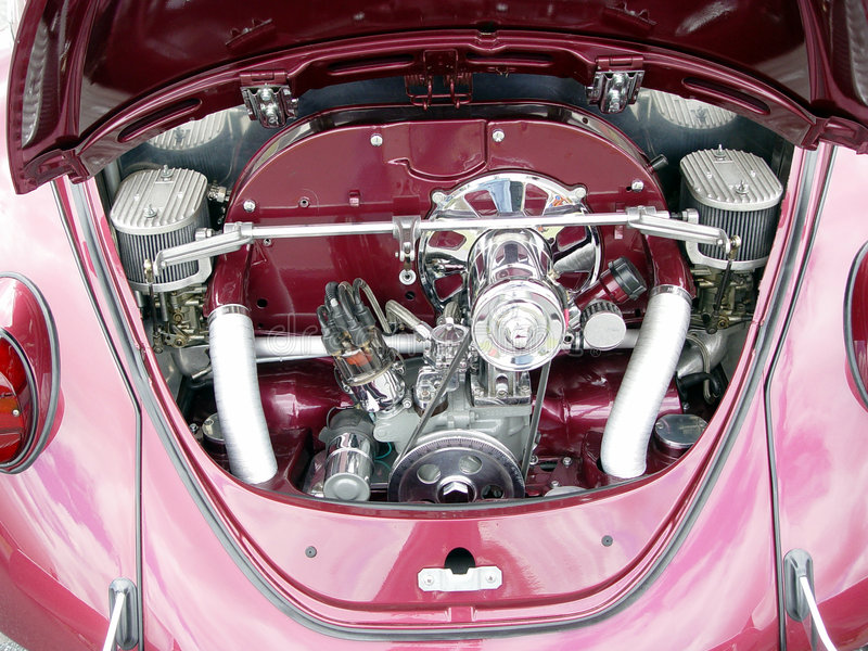 Download Vw Custom Engine stock image. Image of auto, custom, show - 98789