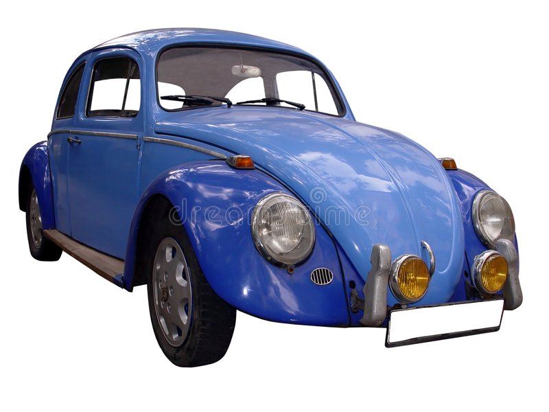 VW del coche de la vendimia foto de archivo