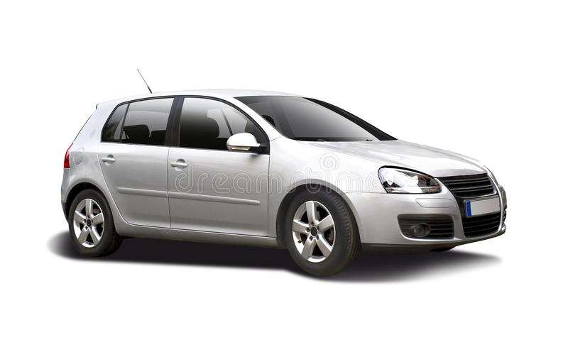 VW GOLF obrazy stock