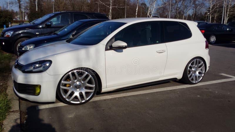 VW Golf VI GTD image stock