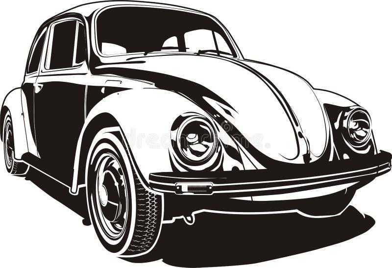 VW introduisent des erreurs pour tests illustration stock
