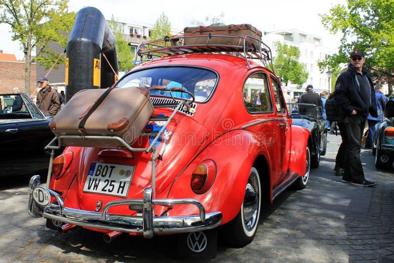 VW-Käfer Oldtimerauto in Kettwig, Bezirk von Essen lizenzfreies stockfoto