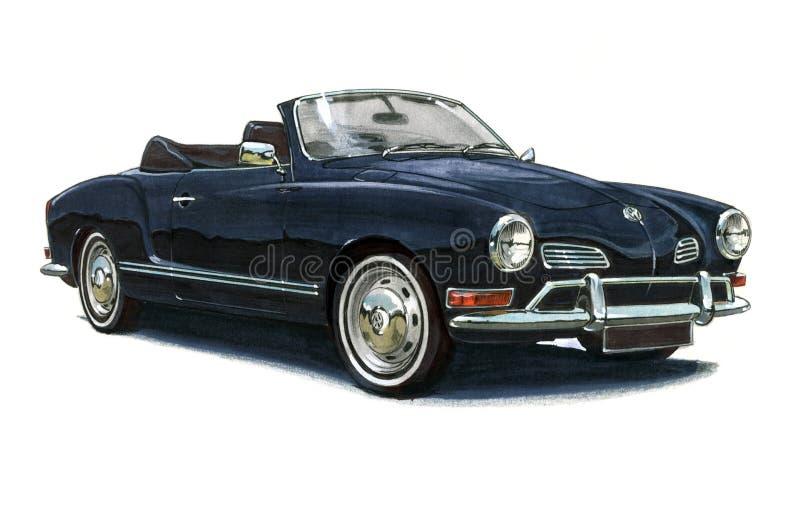 VW Karmann Ghia ελεύθερη απεικόνιση δικαιώματος