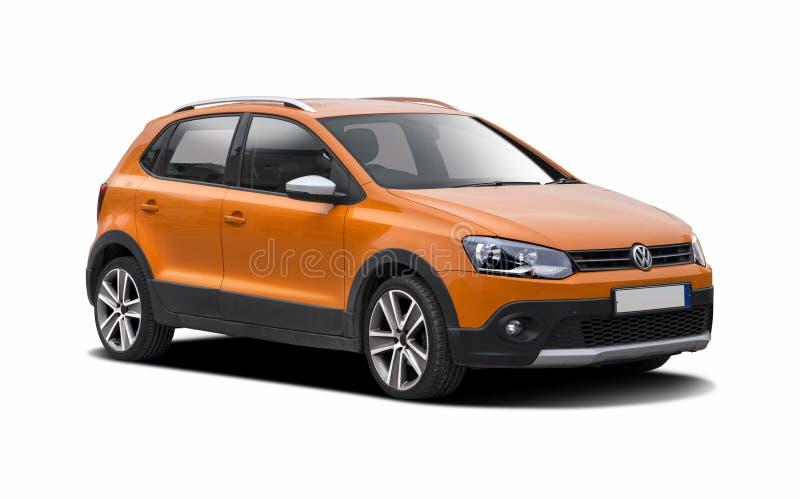 VW krzyża polo fotografia royalty free