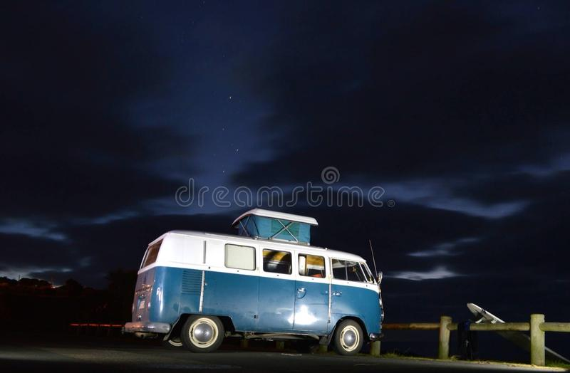 Vw in New Zealand royalty free stock photos