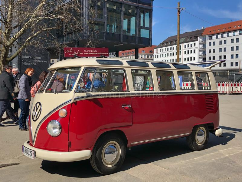 VW Oldtimer royalty-vrije stock fotografie