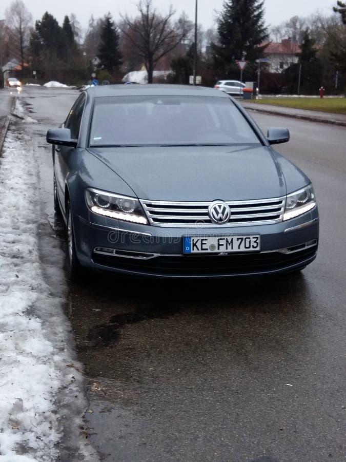VW-Phaeton lizenzfreie stockfotos