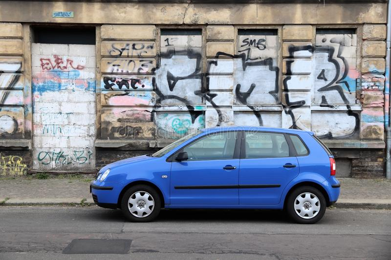 VW Polo royalty free stock photography