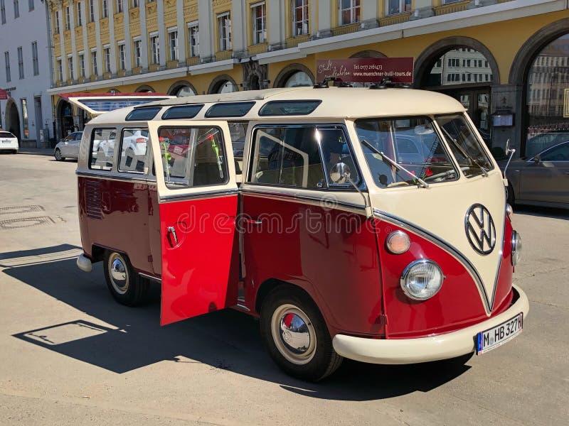 VW-Samba stock afbeelding