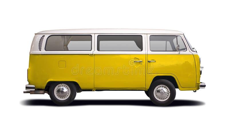 VW T2露营车 免版税库存图片