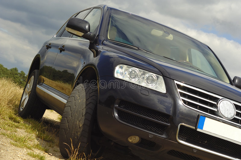 Download Vw touareg stock image. Image of abandoned, industrial - 2921271