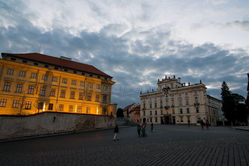 VyÅ ¡ ehrad在布拉格 免版税图库摄影