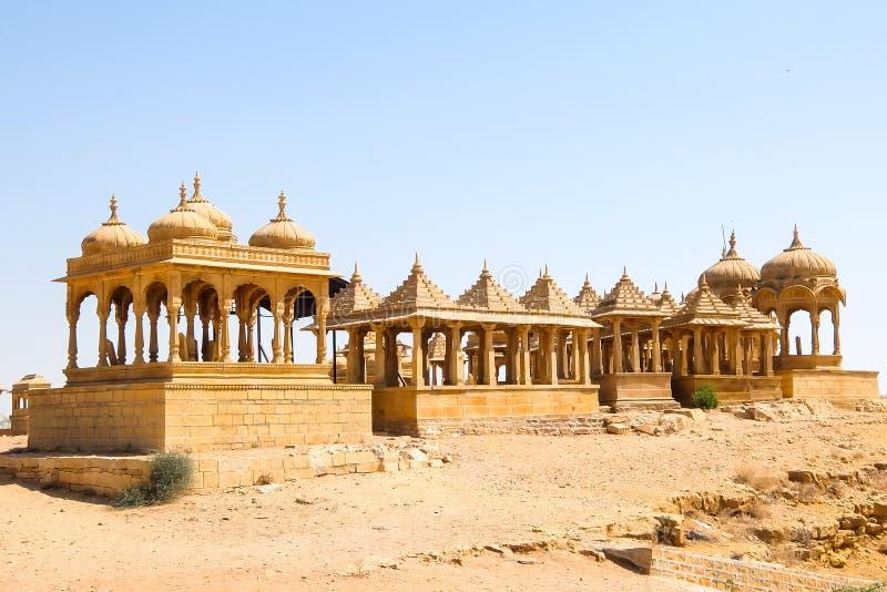 Vyas查特里建筑学贾沙梅尔堡垒的 库存照片