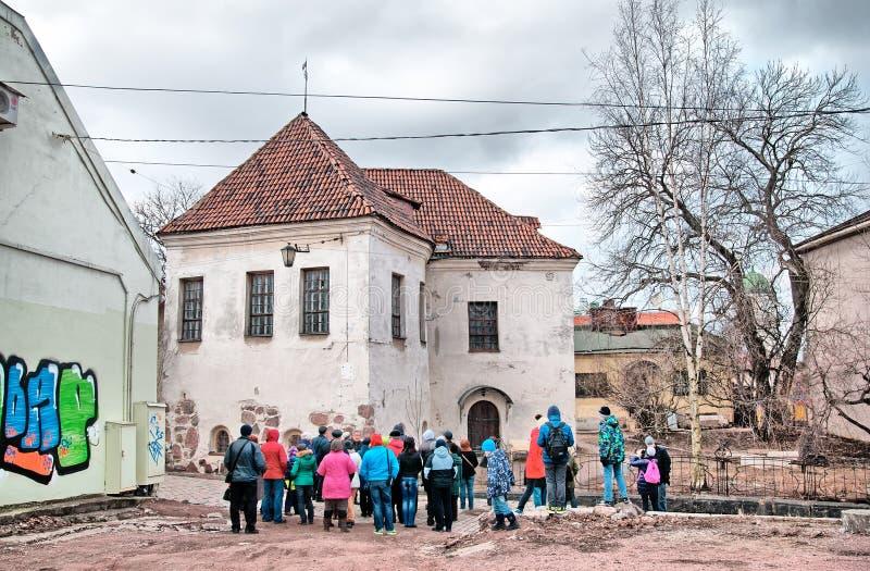 Vyborg La Russia L'ultima chiesa della st Hyacinthus immagini stock libere da diritti
