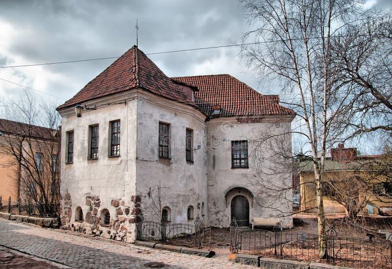 Vyborg La Russia L'ultimo della chiesa della st Hyacinthus fotografia stock libera da diritti