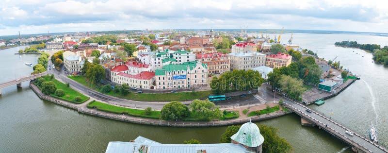 Vyborg, Russland stockfotografie