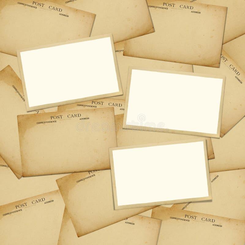 vykort arkivfoton