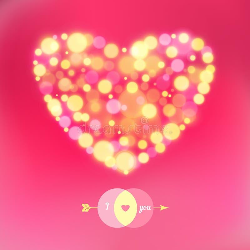 Download Vykort För Lyckliga Valentin Dag. Vektor Illustrationer - Illustration av brigham, blankt: 37344707
