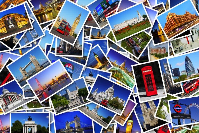 Vykort från London arkivbild