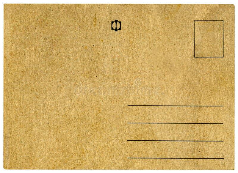 vykorttappning arkivbild