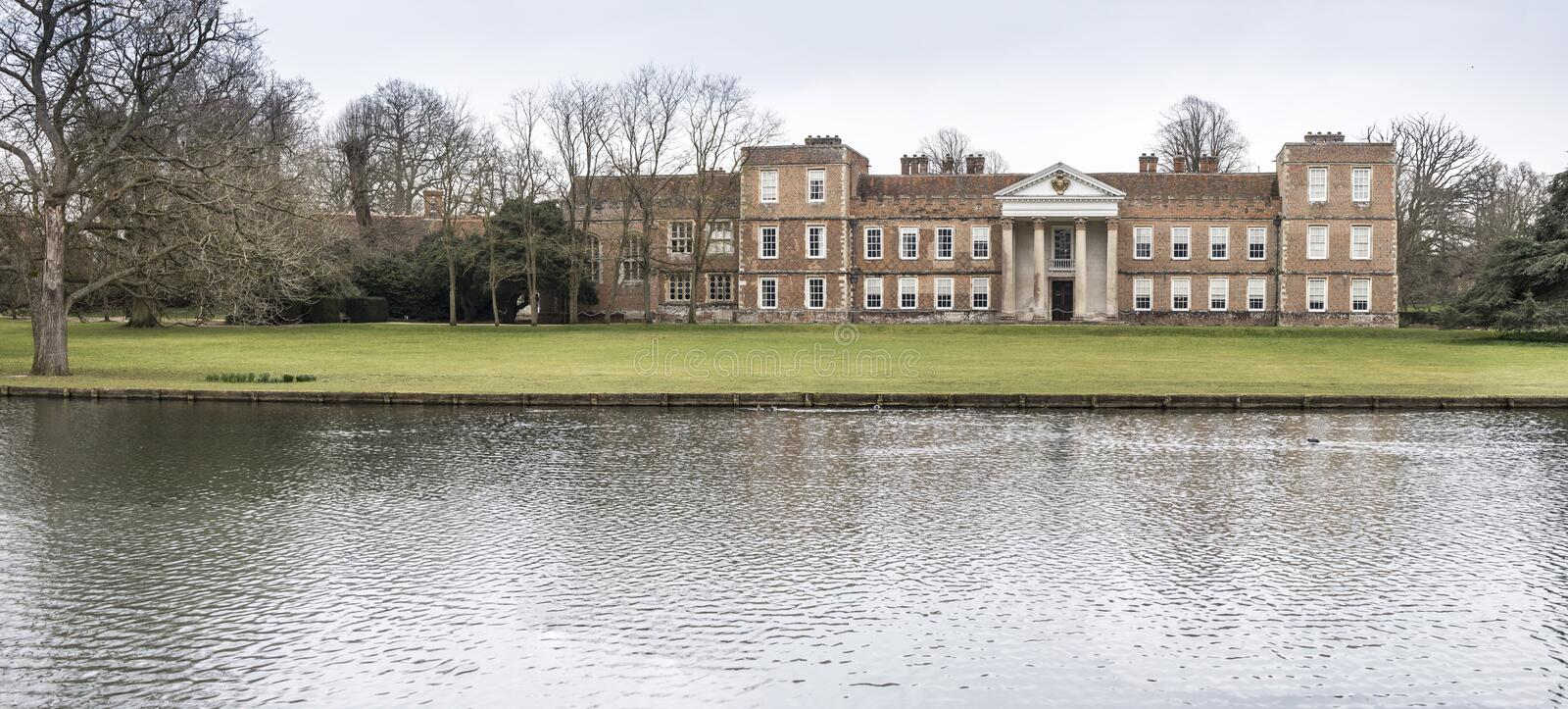 The Vyne Mansion royalty free stock images