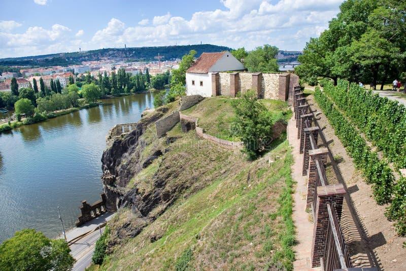 Vysehrad (ЮНЕСКО), Прага, чехия стоковые изображения rf