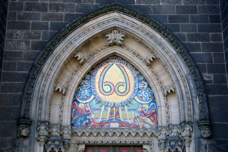 Vysehrad kościół zdjęcia stock