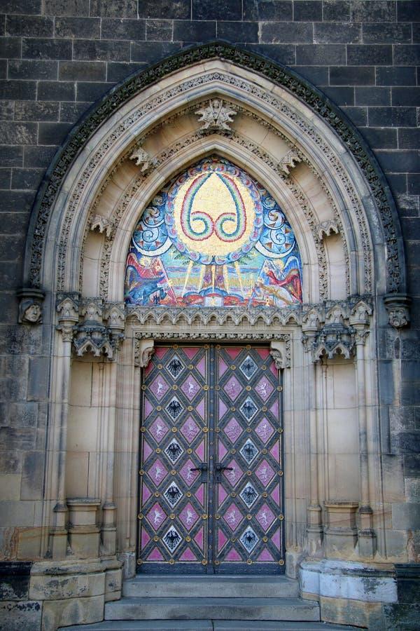 Vysehrad kościół obraz stock