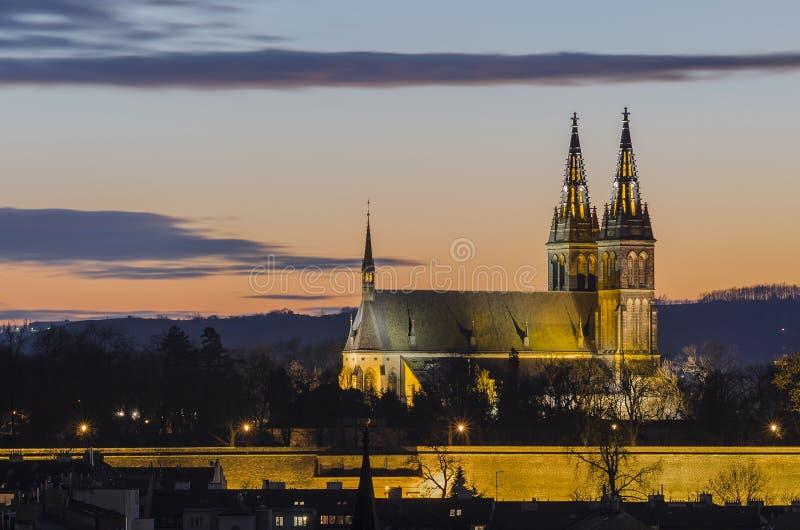 Vysehrad, Praag, Tsjechische Republiek stock foto