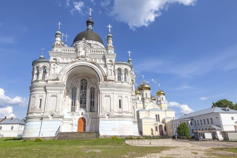 Vyshnevolotsky Kazan klasztor zdjęcia stock